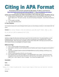 format of an apa paper apa style format essay best 25 example of apa format ideas apa