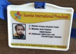 Plastic Id 20589853912 Rs Card Rectangular Id 15 Shape School Blue piece