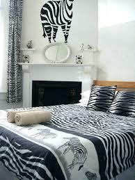 zebra print bedroom ideas plus decor