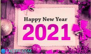 Free Desktop Wallpaper For New Year 2021
