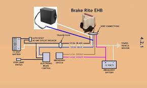 wiring diagram for trailer brakes wirdig wiring the titan brakerite ehb adapter to the titan brakerite ehb