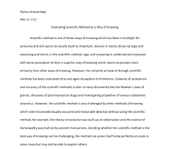 scientific method essay  scientific method essays and papers