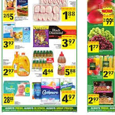 Grocery Store Product List Flyer Food Basics