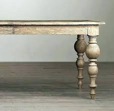 turned leg dining table. Turned Leg Dining Table Home Design Mesmerizing Wood Legs
