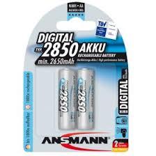 "<b>Аккумулятор AA</b> ""<b>Ansmann</b>"" 2850 mAh 1.2v"