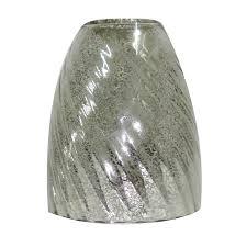 portfolio 5 5 in h 4 75 in w mercury glass bell vanity light shade