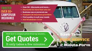 aspects that would play a role in your search for over 50 campervan insurance