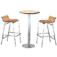 bar stools tables and chairs burlington set of 2 bar height bistro table outdoor bar and