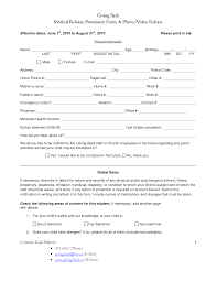 Return To Work Medical Form Back To Work Medical Release Form Charting Tracking 19