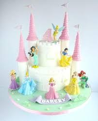 Easy Princess Cake Ideas Castle Birthday Drem Cke Best Cakes Ideas