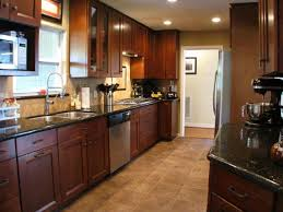 Innovation Kitchens With Dark Cabinets And Tile Floors Image For Kitchen Floor Inside Beautiful Design