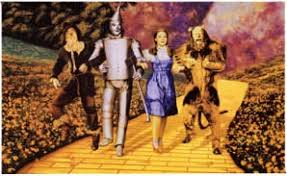 the wizard of oz as a satirical allegory of money and politics in  golden road