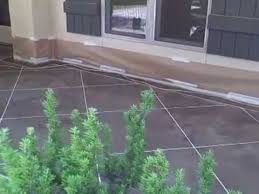 stained concrete patio gray. \ Stained Concrete Patio Gray T