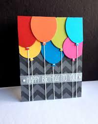 Balloon Birthday Card Design Handmade Birthday Card From Im In Haven Penny Black