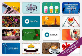 Business Gift Cards With Logo Spoton Gift Card Announcement