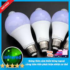 Bóng đèn led Cảm biển chuyển động Thân nhiệt Thiết kế cho thị trường VN  Siêu Nhạy 9W, Siêu Tiết Kiệm Độ sáng cao - Đèn cảm ứng Thương hiệu OEM
