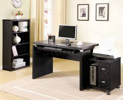 decorationsbest modern home office design ideas with rectangle brown striped wood computer desk and black desks for home office