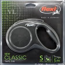 Поводок- <b>рулетка FLEXI NEW Classic</b> ремен. S (до 15 кг), 5 м ...