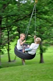 Or perhaps a tire swing.