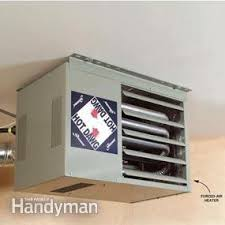 heating your garage with gas how to heat a garage
