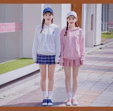 日本風のオルチャンファッションは卒業韓国人に見えるオルチャン