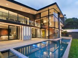 architecture houses glass. Modern Glass House Frames Luxurious Features By Hillery Priest Architecture, Architecture Houses M