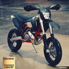 ktm 250 exc supermoto blacked out derestricted