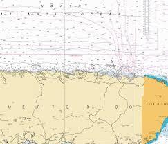 Puerto Rico Charts N Coast Of Puerto Rico Pta Penon Pta Vacia Talega Marine