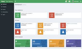Free Web Templates For Employee Management System Kimai Free Time Tracking App Open Source