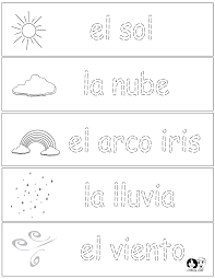 Free Spanish Worksheets For Kids Worksheets for all   Download and ...