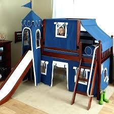 bunk bed with slide and desk. Dressers Decorative Bunk Bed Slide Only 21 Diy Low Loft With Desk Chestnut And