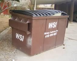 Dumpster Sizes Chart Dumpster Sizes