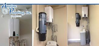 tankless hot water heater installation. Anytime Plumbing Inc Tankless Water Heater Service Contractor In Las Vegas NV With Hot Installation