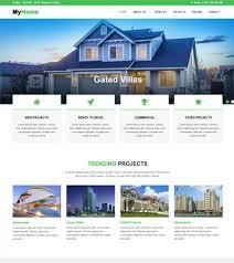 Real Estate Website Templates Fascinating Latest Real Estate Website Templates Free Download WebThemez