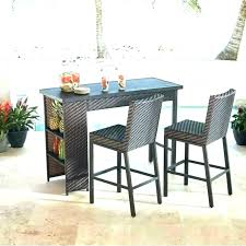 bar height bistro table sets balcony set small space patio furniture 3 piece wicker threshold 5 outdoor