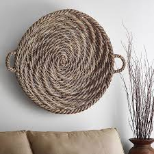 sweet looking wicker wall decor interior decorating magnificent round baskets motif painting ideas enchanting uk target