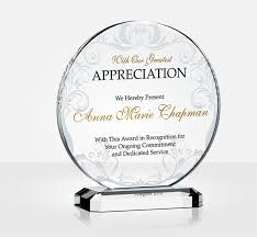 Appreciation Awards Wording With Pastor Plus Employee Together