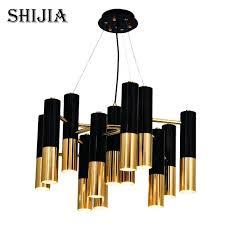 copper pendant light postmodern creative black copper pendant light for dining room restaurant home lighting pendant