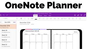 Onenote Planner The Awesome Planner For Microsoft Onenote