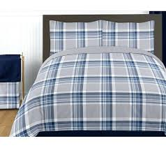navy blue twin quilt navy blue and grey plaid twin boys teen bedding set collection by sweet designs only navy blue quilt twin xl