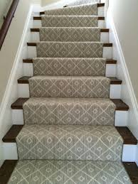 Cool Stair Runners For Your Staircase Decor: Stair Carpet Runners The  Workroom 2017 With Geometric