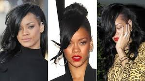 Rihanna Velký Přehled Jejích účesů Stránky Plné Celebrit A