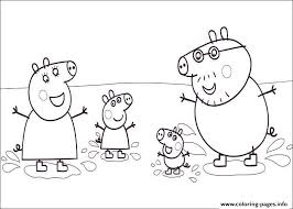 Small Picture PEPPA PIG Coloring Pages Free Printable