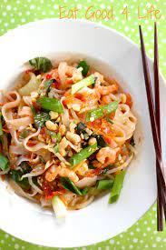 drunken noodles with shrimp