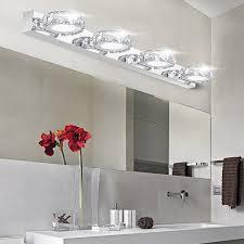 cool bathroom lighting. Modern K9 Crystal LED Bathroom Make-up Mirror Light Cool White Wall Sconces Lamp 90 Lighting I