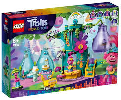 <b>Конструктор LEGO Trolls</b> World Tour 41255 Праздник в Поп-сити ...
