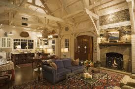 Log Home Interiors - Mountain home interiors