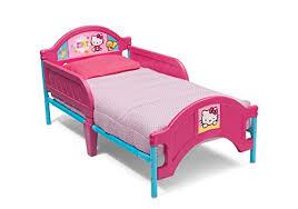Delta Children Plastic Hello Kitty Toddler Bed