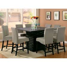Tall Square Kitchen Table Set Tall Square Dining Table Far Fetched Kitchen And Chairs High Gloss