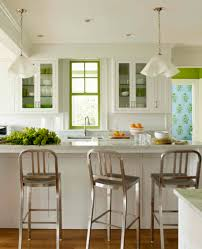 Bright Kitchen Color Painting A Window For A Bright Pop Of Color White Green Kitchen